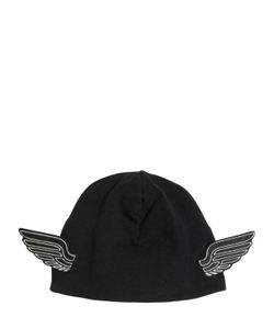 YPORQUÉ | Doubled Cotton Jersey Hat W/ Wings