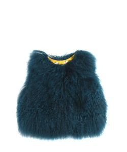 YVES SALOMON ENFANT   Mongolia Fur Vest