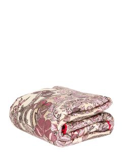 ZUCCHI COLLECTION | Papillons Printed Cotton Sateen Blanket