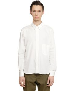 Christophe Lemaire | Detachable Collar Cotton Poplin Shirt