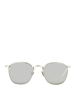 Linda Farrow | Platinum Plated Mirrored Sunglasses