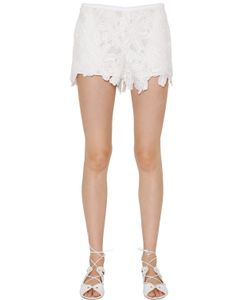 Blugirl | Techno Macramè Lace Shorts