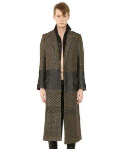 Haider Ackermann | Wool Lurex Jacquard Long Coat