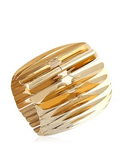 Pluma | Plated Fishbone Bangle