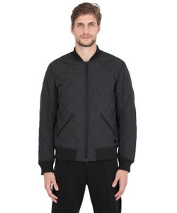 ADIDAS BY WINGS & HORNS | Quilted Primaloft Bomber Jacket