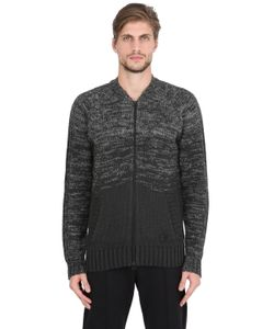 ADIDAS BY WINGS & HORNS | Ombre Wool Cotton Tracktop Sweater