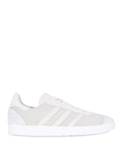 ADIDAS BY WINGS & HORNS | Gazelle 85 Primeknit Leather Sneakers