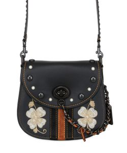 COACH 1941 | Saddle Embroidered Studded Leather Bag