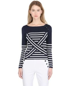 TOMMY X GIGI | Gigi Hadid Striped Nautical T-Shirt