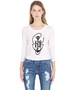 TOMMY X GIGI | Gigi Hadid Crewneck Anchor T-Shirt