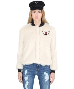 TOMMY X GIGI | Gigi Hadid Faux Fur Bomber Jacket