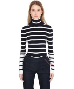TOMMY X GIGI | Gigi Hadid Cotton Rib Knit Sweater