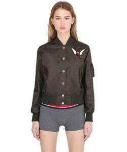 TOMMY X GIGI | Gigi Hadid Nylon Bomber Jacket