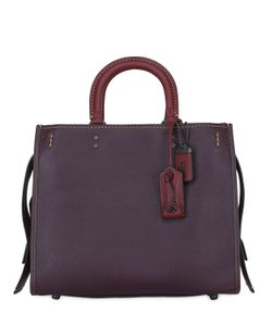 COACH 1941 | Rogue Pebbled Leather Top Handle Bag