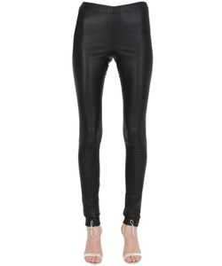 SIRAN | Stretch Nappa Leather Leggings