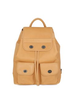 MANDARINA DUCK | Medium Kyoto Leather Backpack