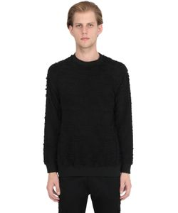 MRKT | Destroyed Cotton Sweatshirt