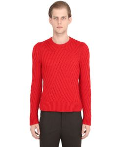 Neil Barrett | Wool Cable Knit Sweater
