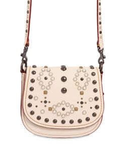COACH 1941 | Saddle Studded Leather Shoulder Bag