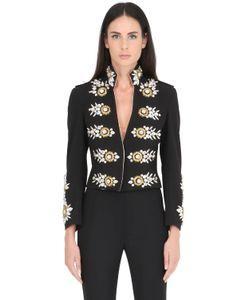 STEFANO DE LELLIS | Embellished Crepe Jacket