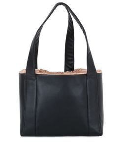 MICOLI | Nappa Leather Silk Satin Tote Bag