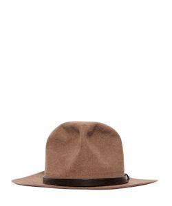 HTC Hollywood Trading Company | Dallas Wool Felt Brimmed Hat