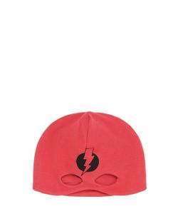 YPORQUÉ | Superhero Cutout Cotton Jersey Hat