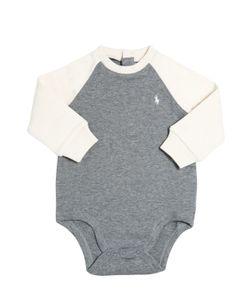 RALPH LAUREN CHILDRENSWEAR | Cotton Interlock Bodysuit