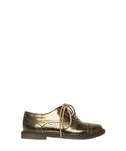 Pom D'Api | Brushed Leather Lace-Up Shoes