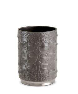 L'OBJET | Crocodile Porcelain Pencil Cup