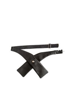 GTIE | 3cm Jacob Leather Bow Tie