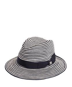 ETTORE BUGATTI COLLECTION | Соломенная Шляпа В Полоску