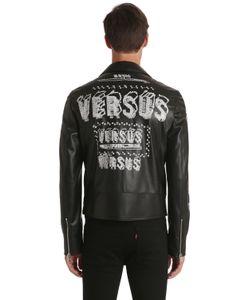 Versus   Куртка Zayn X Из Искусственной Кожи