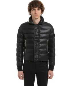 Saint Laurent   Куртка Из Стёганого Нейлона