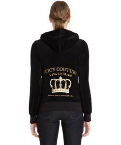 Juicy Couture | Свитшот Из Велюра