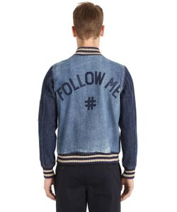Ports 1961 | Куртка-Бомбер Follow Me Из Деним