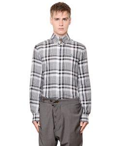 Vivienne Westwood | Рубашка Из Хлопкового Стрейч Жаккарда В Клетку