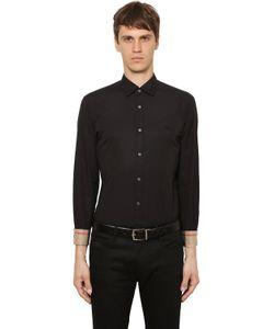 Burberry | Рубашка Из Стретч Поплин