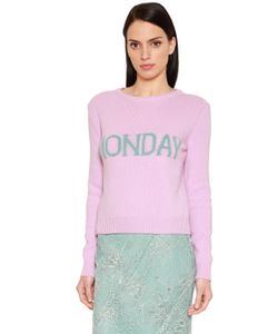 Alberta Ferretti | Monday Wool Cashmere Knit Sweater