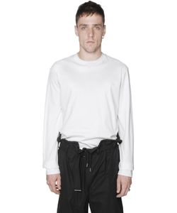 Diesel Black Gold | Jersey Poplin Long Sleeve T-Shirt