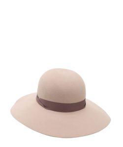 Borsalino | Фетровая Шляпа Violet С Широкими Полями