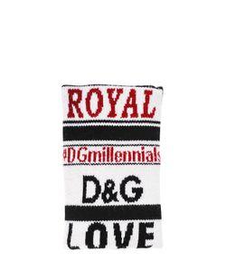 Dolce & Gabbana   Манжеты Dgmillennials Из Шерстяного Жаккарда