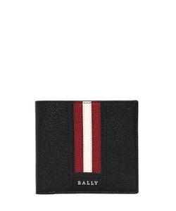 Bally | Кошелёк Из Сафьяновой Кожи С Полосками