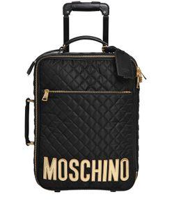Moschino | Чемодан Из Стёганого Нейлона