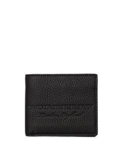 Burberry | Кошелёк Из Искусственно Мятой Кожи С Логотипом