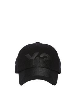 Y-3 | Бейсбольная Кепка X-Ray Из Шерсти С Логотипом