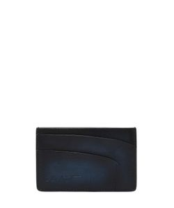 ETTORE BUGATTI COLLECTION | Handmade Brushed Leather Card Holder