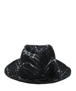 Move | Соломенная Шляпа С Пятнами Краски