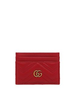 Gucci | Кожаная Кредитница Gg Marmont 2.0