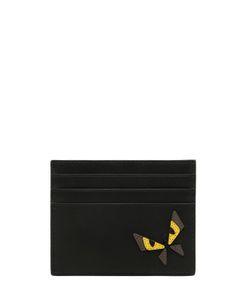 Fendi | Кожаная Кредитница Monster Butterfly